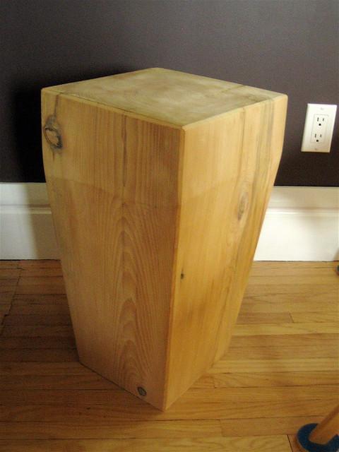 Make a solid wood floating shelf