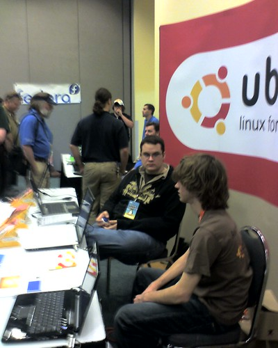 Ubuntu Ohio booth