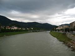 IMG_1779 - Salzburg - Salzach River from Mozartsteg, looking southeast