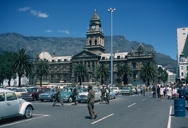 Town Hall And Square Cape Town 1970 Flickr Photo Sharing