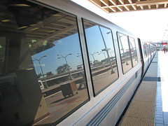 monorail(0.0), passenger(1.0), vehicle(1.0), train(1.0), transport(1.0), public transport(1.0), rolling stock(1.0), rapid transit(1.0),
