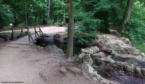 Parcours de jogging au bois de Vincennes