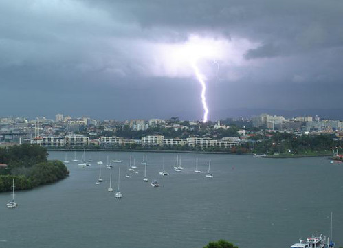 Queensland storm photos - on Sunrise