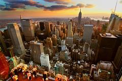 New York Sunset - HDR