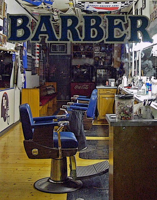 Barber Shop Lawrence Ks : Lawrence KS - This Barber Shop Left Their Lights On Flickr - Photo ...