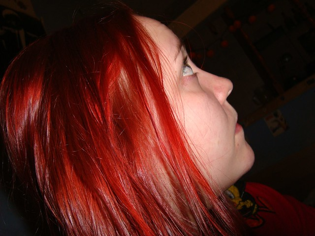 Freshly Dyed Hair Flickr Photo Sharing