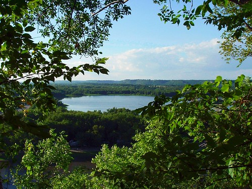 View from Barn Bluff