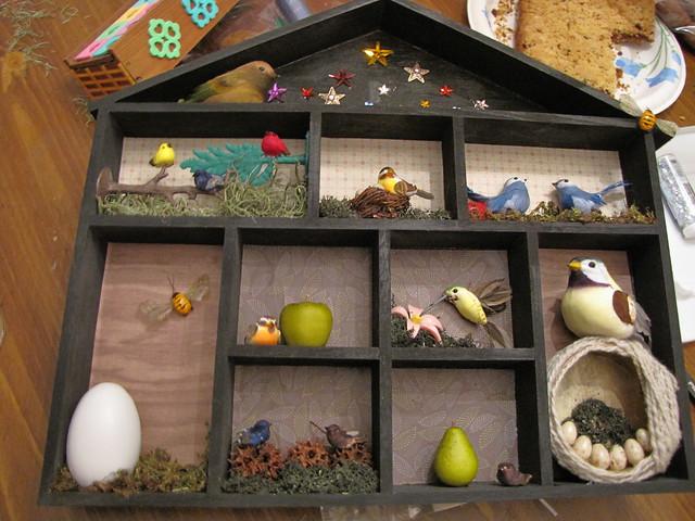 My Birdhouse Shrine