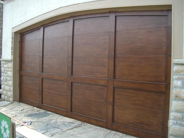 How to install a garage door 2017 2018 best cars reviews for Wood grain garage doors