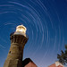 Star Trails - Barrenjoey Lighthouse by Night