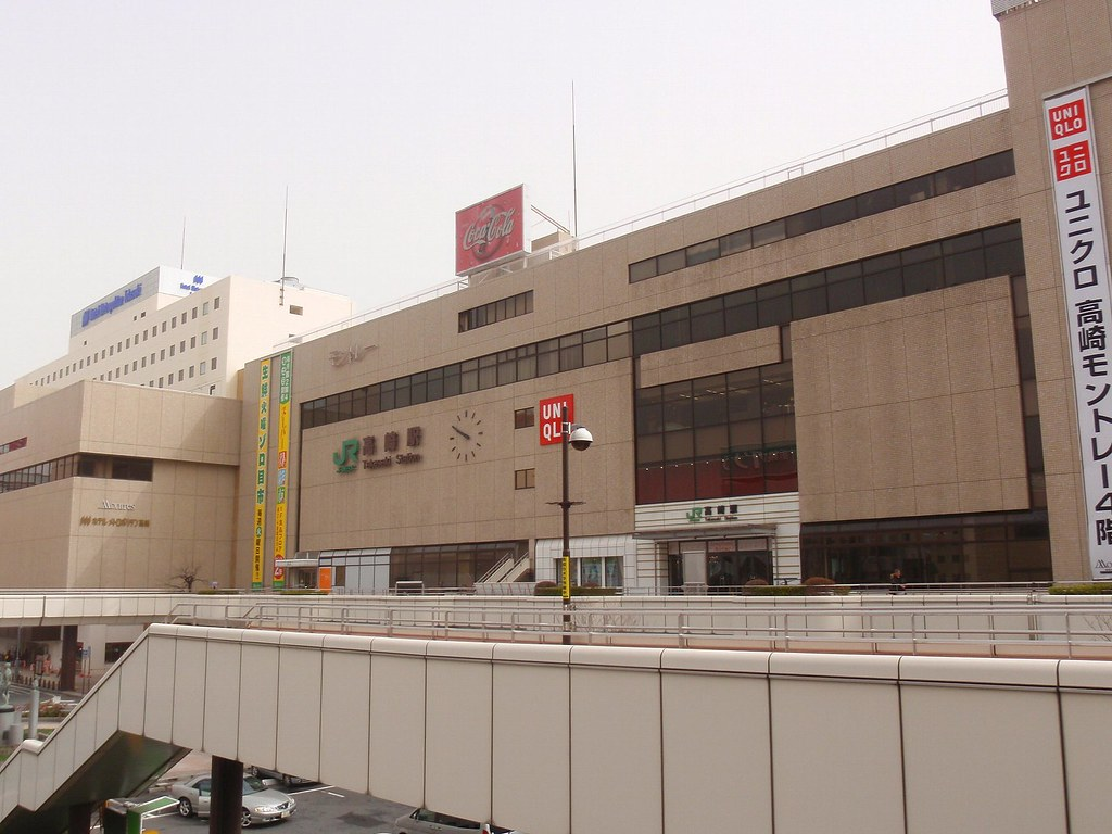 Takasaki Station, Gunma