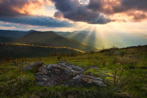 Appalachian Light -- Blue Ridge Mountains, NC