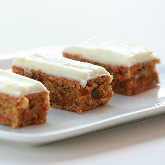 Carrot & Zucchini Bars | Flickr - Photo Sharing!