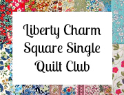 Charm square club button single