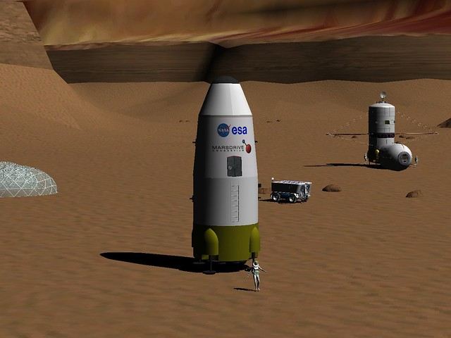 MFL Mars Base ERV and MTSV