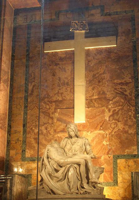 Vaticano :: Pietá di Michelangelo