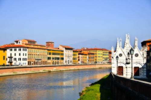 A View of Pisa