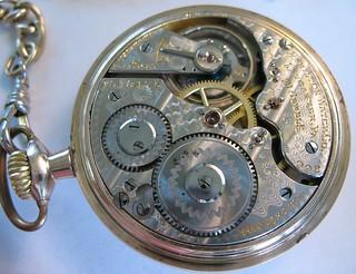 Railroad Watch Mechanism
