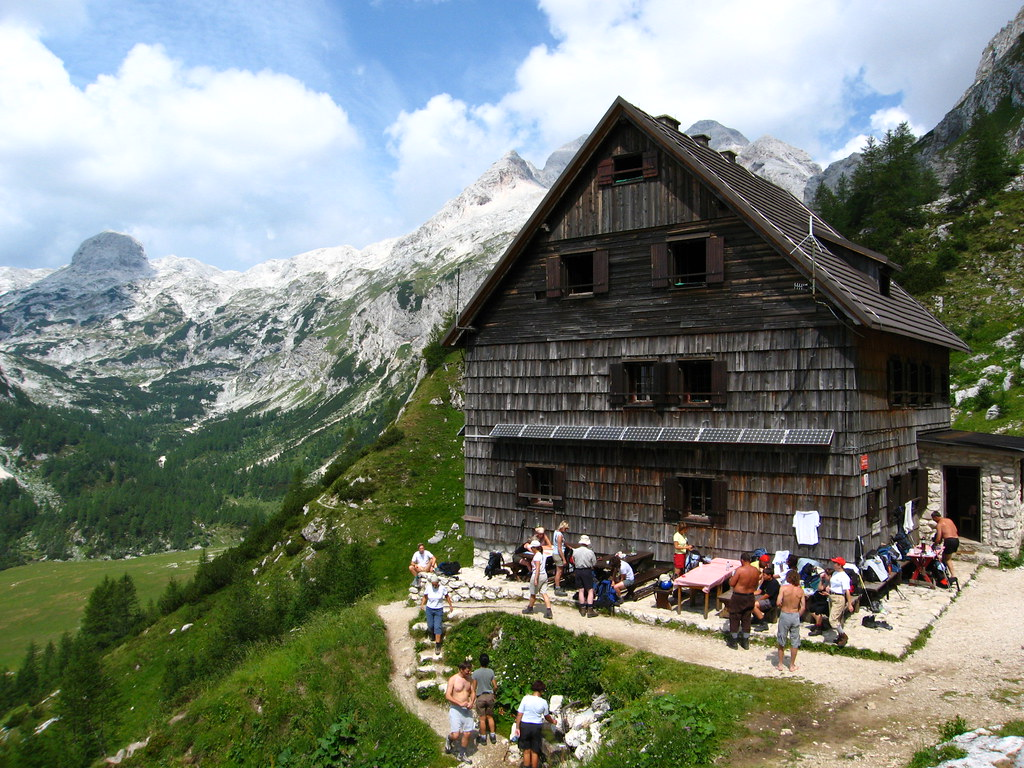 Best Walks in Europe: A mountain hut at Triglav, Slovenia