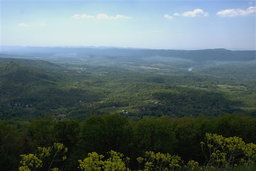 Shenandoah Valley in Virginia off Skyline drive