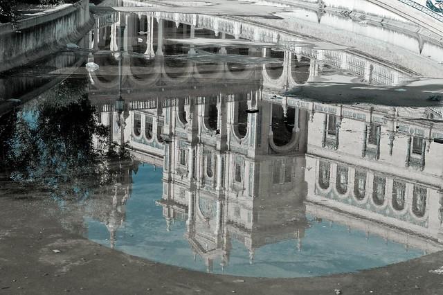 Reflejo Plaza de España - 2008