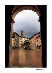 Spoleto - Vista dai portici del Duomo