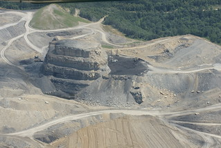 Mountaintop removal coal mine in Floyd or Magoffin County Kentucky