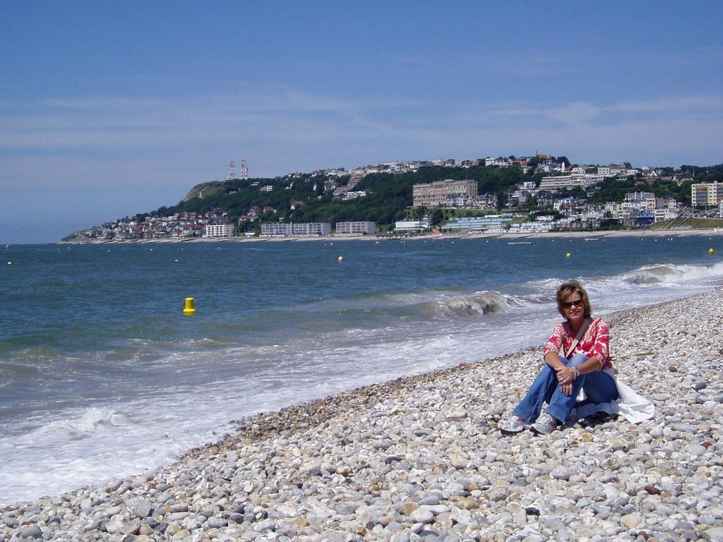 imgsc  Tammie on LaHavre, France Beach