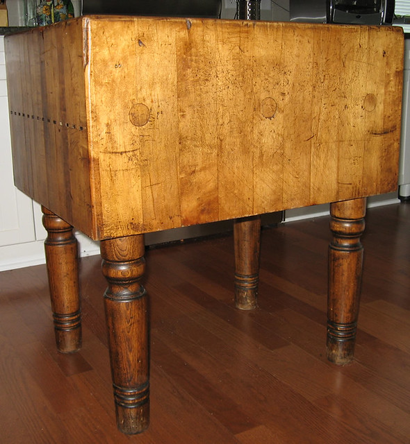 antique maple butcher block flickr photo sharing