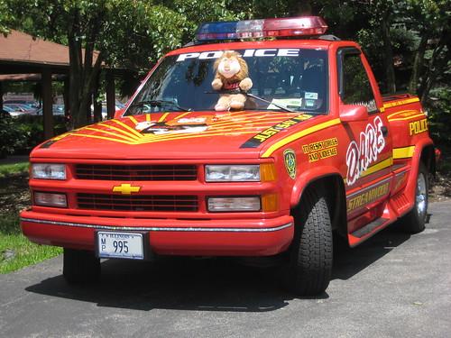 police car photo