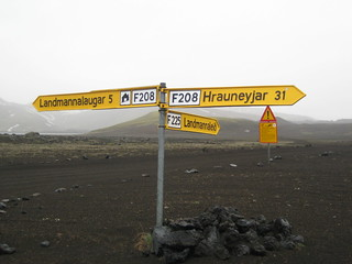 Road to Landmannalaugar