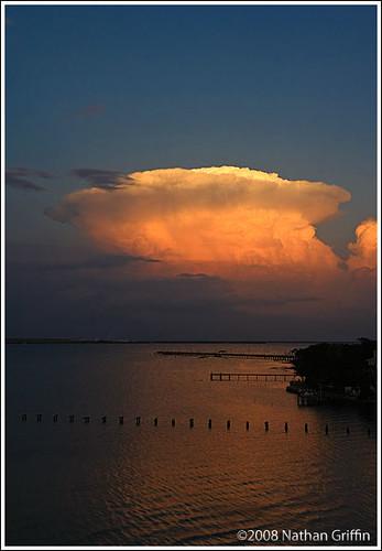 Sunset at Tampa, Florida