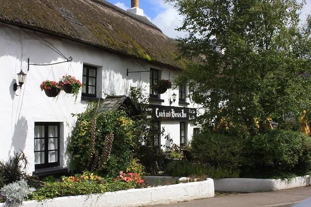 Buckland Brewer, Devon, The Coach & Horses Inn 01
