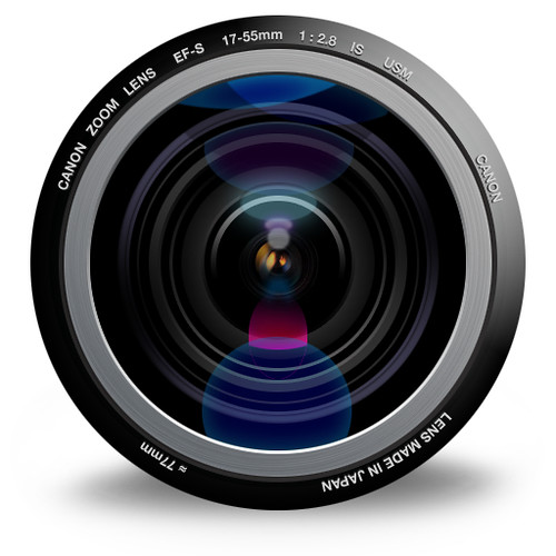 The lens icon