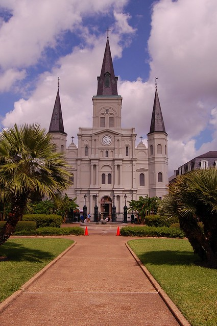 St. Louis Cathedral (New Orleans, Louisiana) (Credit: ~MVI~ (warped) on Flickr.com)