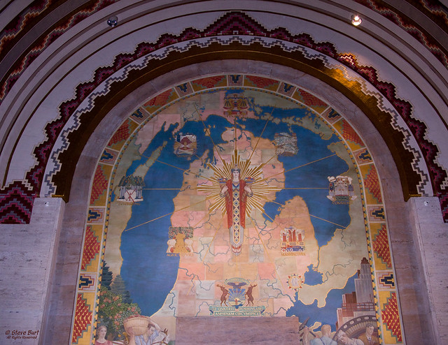 Guardian building mural flickr photo sharing for Mural z franciszkiem