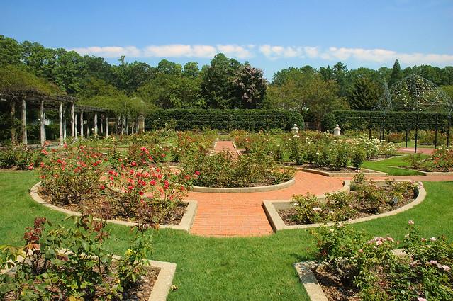 Formal Rose Garden Birmingham Botanical Gardens Al 2008 Flickr Photo Sharing