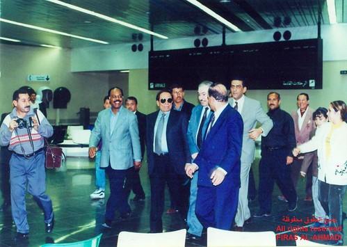صورة عادل امام في مطار بغداد الدولي التقطت في يوم 2001/02/20 by Salwan ALabdaly سلوان العبدلي