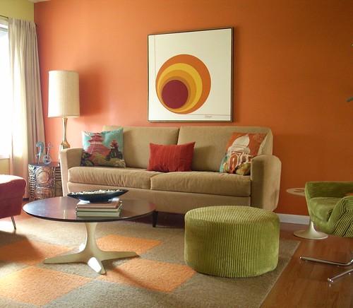 Living room - October 2008