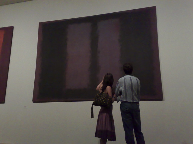 Rothko - Black on Maroon