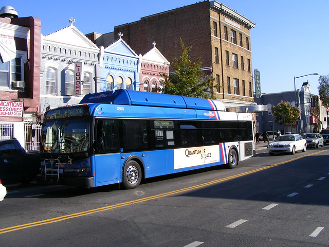 Another MetroExtra Bus Towards Silver Spring