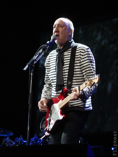 Pete Townshend - THE WHO by flipkeat