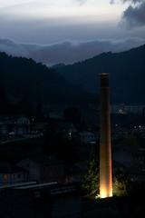 La cheminee de Saint Sauveur de Montagut
