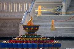 Pool decoration @ Swaminarayan Temple