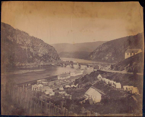 View of Harpers Ferry.