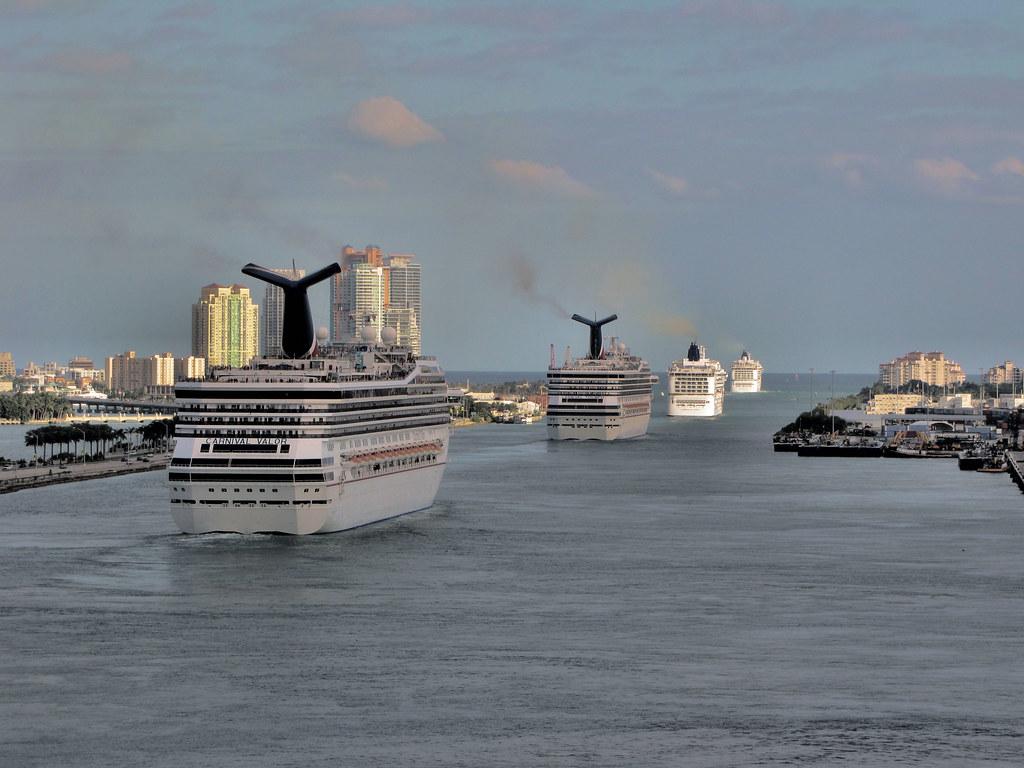 Cruise Ships on Parade