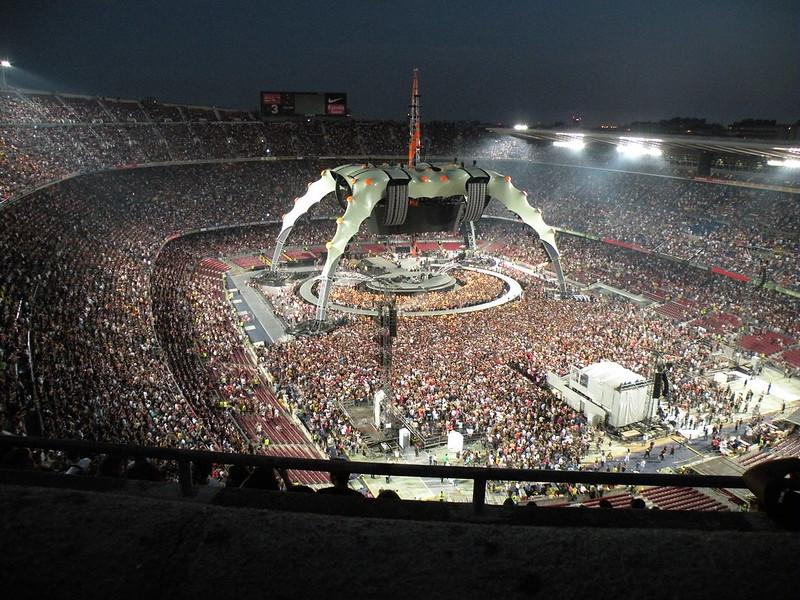 U2 360 Tour Barcelona 2009