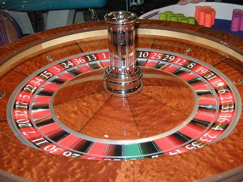 Roulette wheel in Laughlin, NV