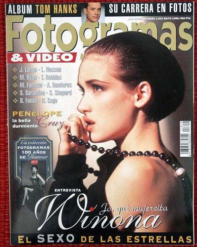 Winona Ryder Winona Ryder | Revista Fotogramas 1995 #1819 brazilian bikini swimwear