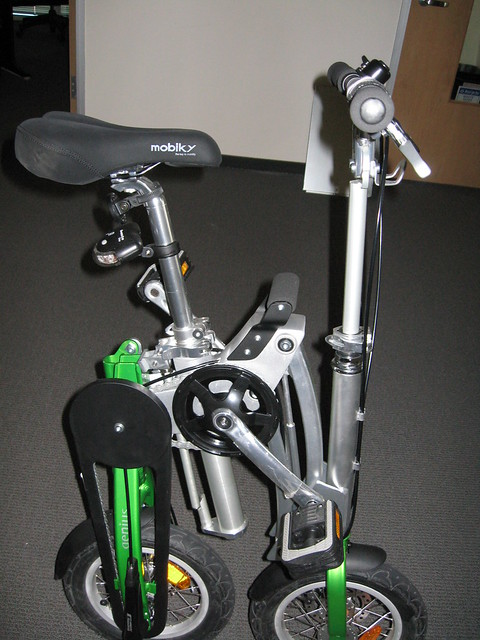Mobiky Genius folding bicycle